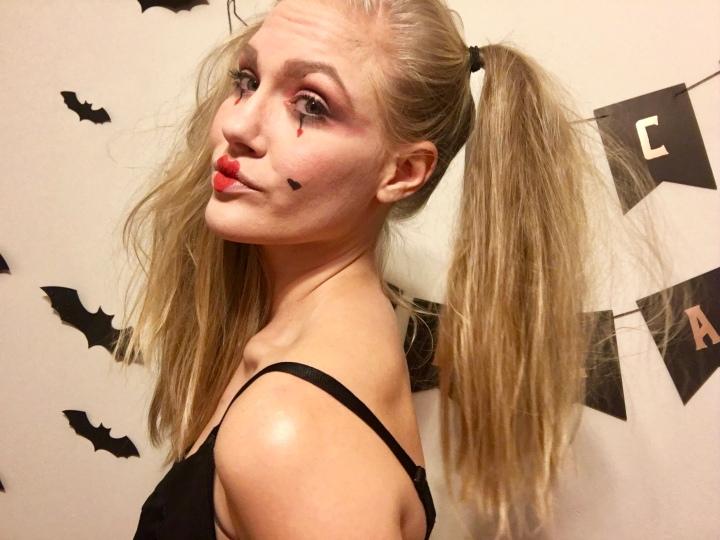 Halloween Makeup Look: TheJester