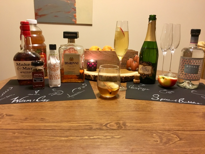 Thanksgiving 2017 Cocktail Menu