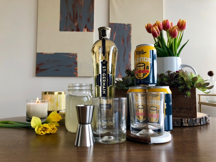 A Spring Cocktail - The Daffodil